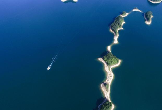 俯瞰淳安千岛湖换个角度观秀水-浙江在线杭州在线网站