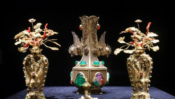 1,300 relics on show at the Wulian Museum in Southwest China's Guizhou Province