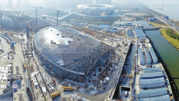 The Dawning of Three Impressive Venues for the Asian Games