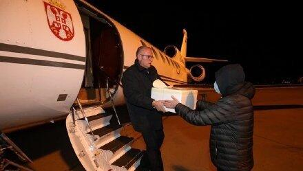 The first batch of rescue materials from China reached Serbia 首批中国援助物资运抵塞尔维亚