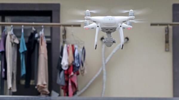 Drones help to monitor households' roof conditions in Hangzhou