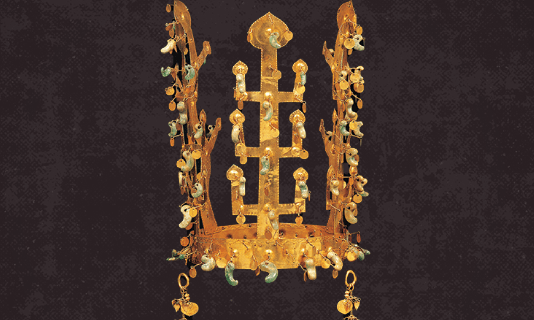2-day countdown to Silk Road Week: Gold Crown from Geumgwanchong Tomb