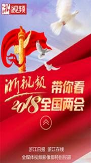浙视频带你看2018全国两会
