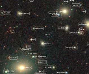 中外科學家聯合發布巨幅宇宙二維天圖 含20億天體