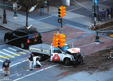 """警方称曼哈顿恐袭嫌犯受""""伊斯兰国""""影响 花费数周策划袭击"""