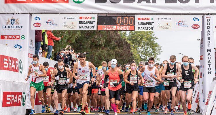 第35届布达佩斯马拉松在疫情中举行 2位匈牙利选手夺得冠军
