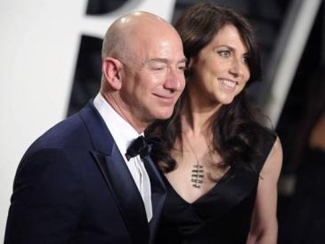 全球新女首富将诞生 贝佐斯发妻或靠离婚坐上这一宝位