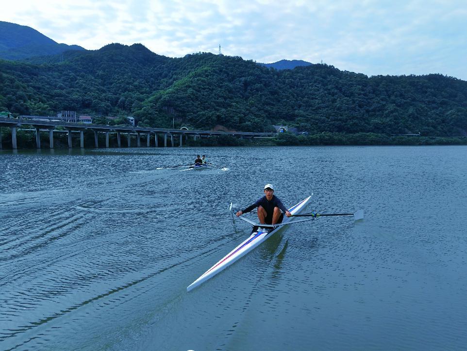 嵊州市少体校皮划赛艇训练基地如期竣工启用