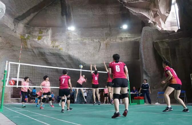 极具三门特色的项目加入海运会 洞窟气排球比赛圆满落幕