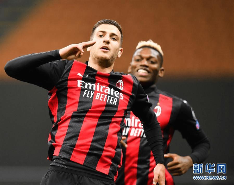 (体育)(4)足球——欧联杯:AC米兰胜布拉格斯巴达