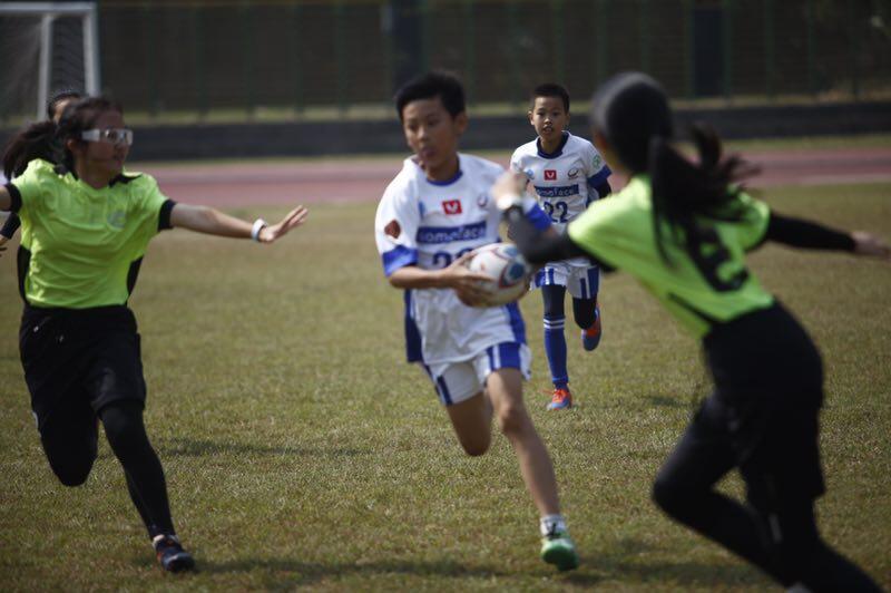 2019年第六届杭州青少年触式橄榄