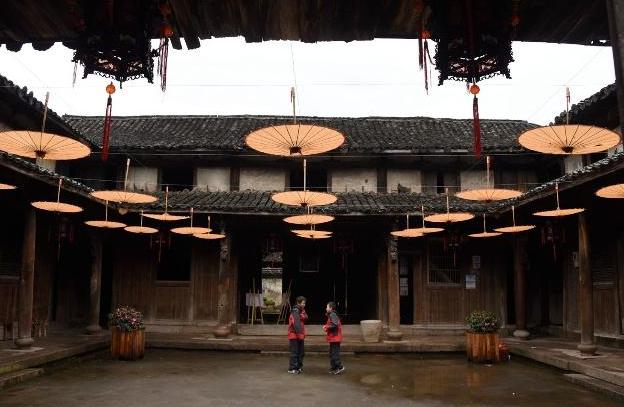 镜头下的国家级传统村落四都村