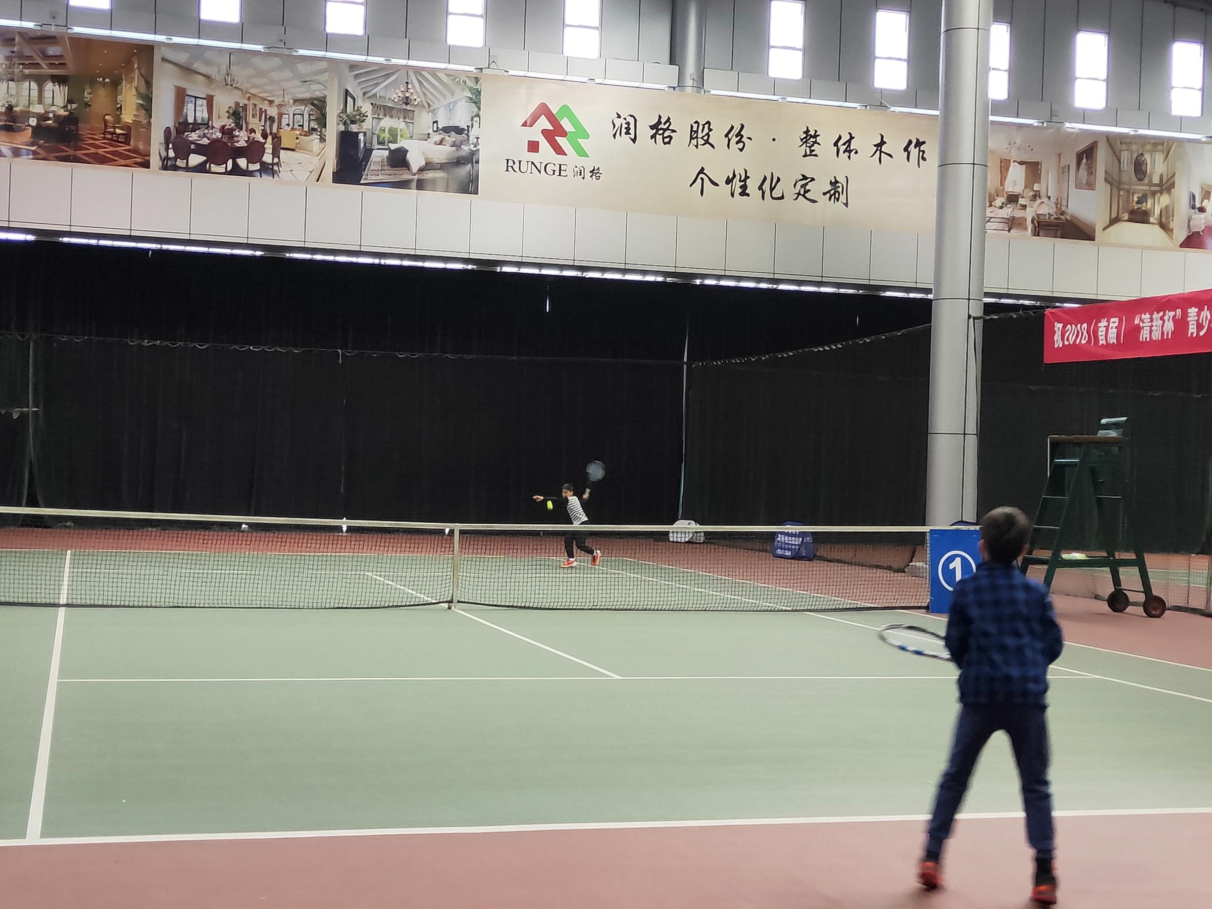 这场民间帆船办高速的青少年网球赛改良了AT打出运茶配方体育强化力量图片