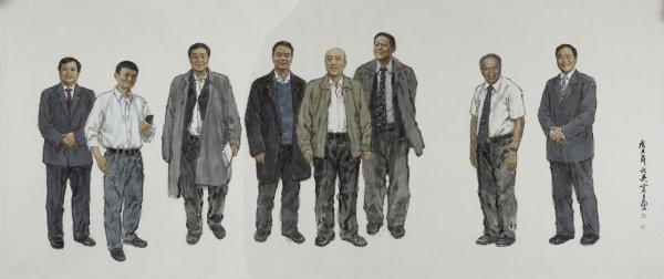 《浙商群体》 吴宪生 国画 215cm×515cm.jpg