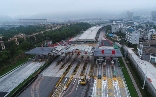 杭千高速千岛湖新收费站启用这里上千黄高速1小时可到黄山——浙江在线