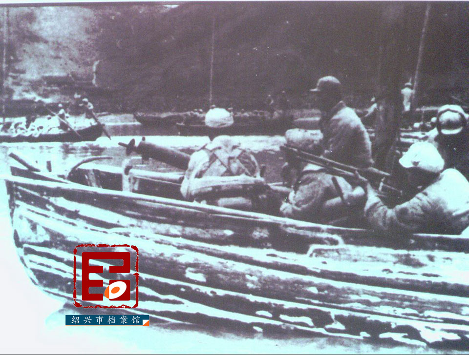 1949年5月22日,解放军兵渡曹娥江