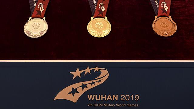 第七届世界军人运动会奖牌奖杯正式表态