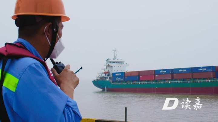 同比增长近五成!海河联运集装箱业务成嘉兴港增长新引