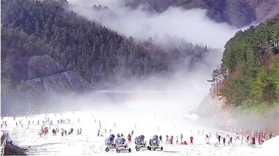 春节包机去滑雪不稀奇啦 浙江全省滑雪场增加到15家