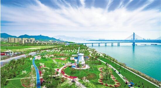 富阳:起跳争先 迈向一流大都市新型城区