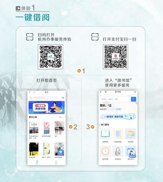 """杭州图书馆阅读服务再升级""""一键"""