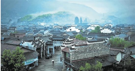 """走进现代版""""千里江山图""""  衢州"""