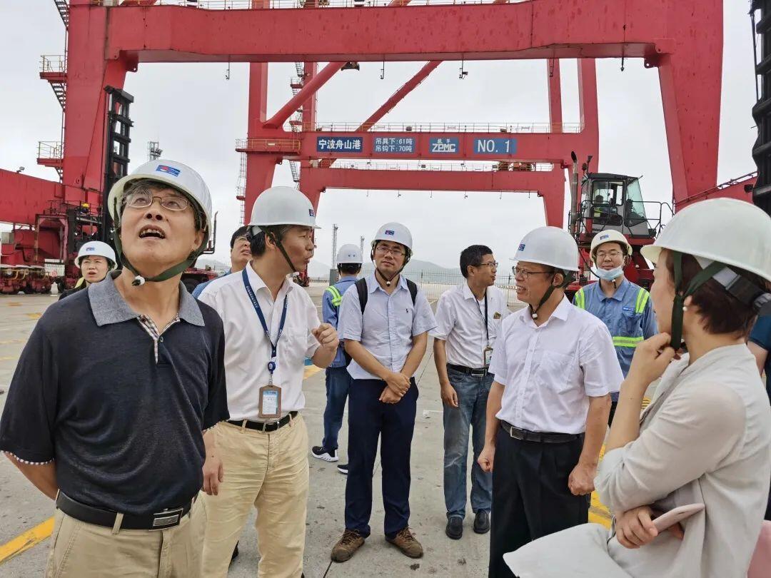 中國藍新聞客戶端丨港口這一年,港航委員會客廳做了這些事