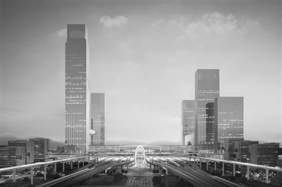 杭州西站枢纽站房方案亮相 候车大厅比东站还要大