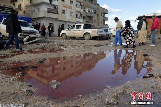利比亚安全局势复杂危险 外交部吁中国公民暂