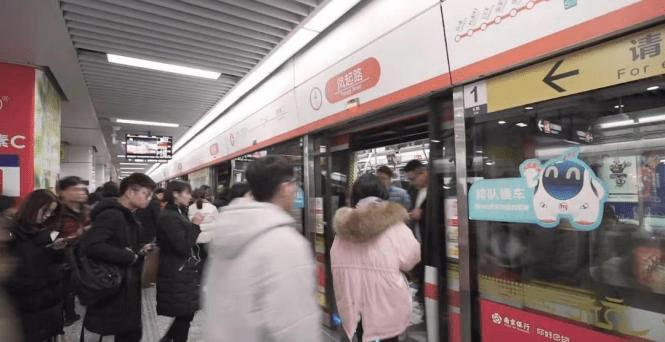 情暖春运!彩虹送福、彩虹街拍……杭州地铁送暖啦!