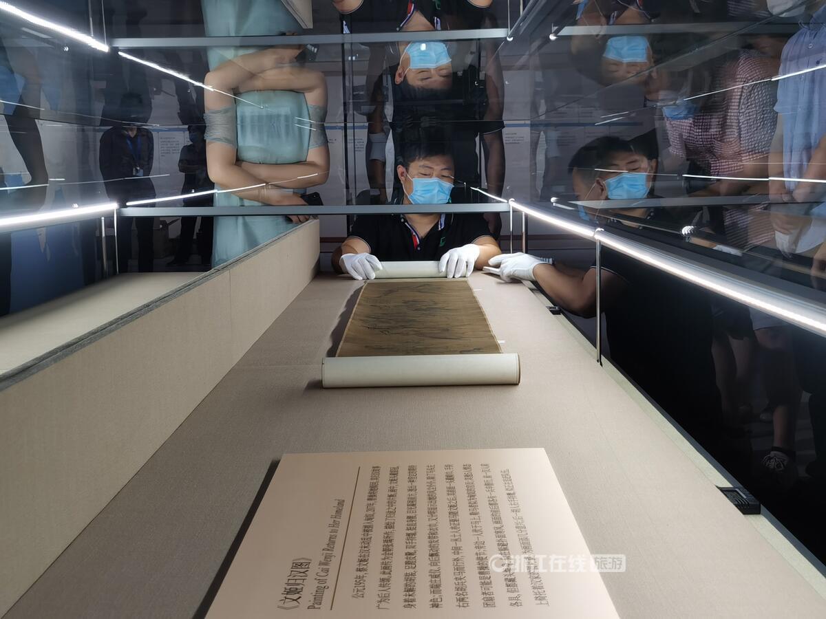 《文姬归汉图》、青花帆船图花口盘……丝绸之路上的罕见文物 本周五亮相