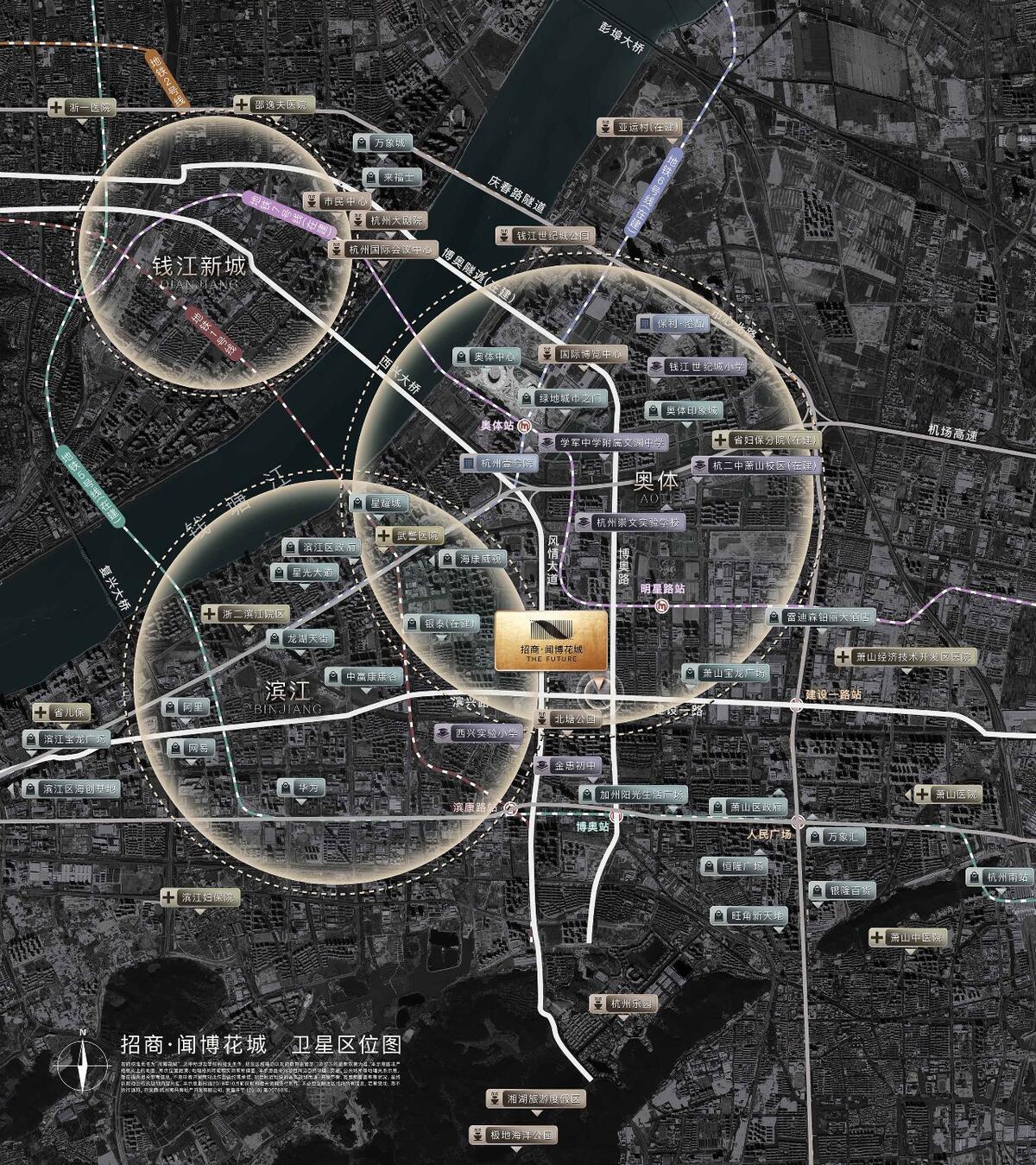 卫星区位图