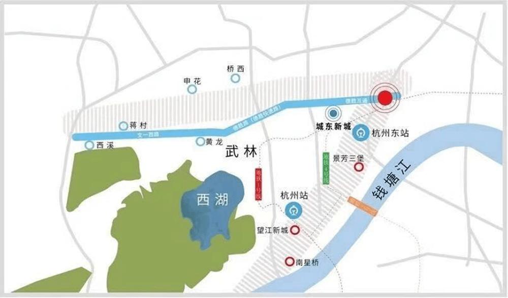 景粼天著:在杭州华宅带交汇点,