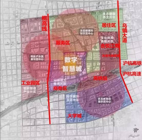 高铁新城规划(图片来自网络)图片