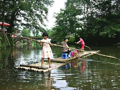 川西版小桥流水-乡村-浙江在线-旅游频道图片