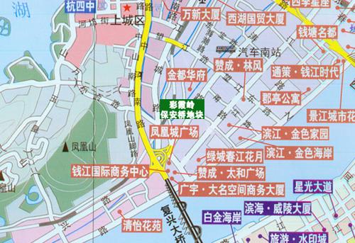 杭州合作建房筹备拿地 相中彩霞岭保安桥地块