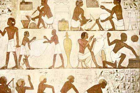追寻远古的壁画在激战中探险金字塔图片