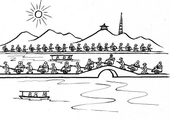 杭州旅游规划引争议:西子湖畔恢复人力黄包车行吗图片