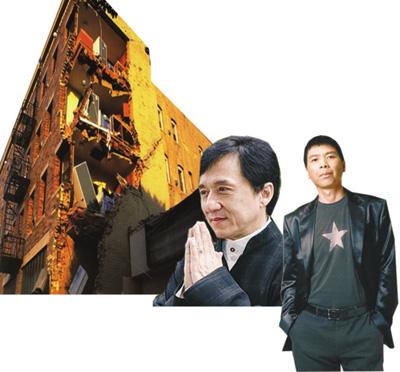 中国电影人聚焦汶川 近十部抗震题材影片筹拍