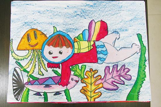 粗心小画家的作品-寻人启事 大师级作品是哪位小朋友画的