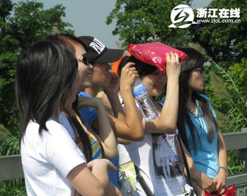 线 浙江新闻; 美女如云