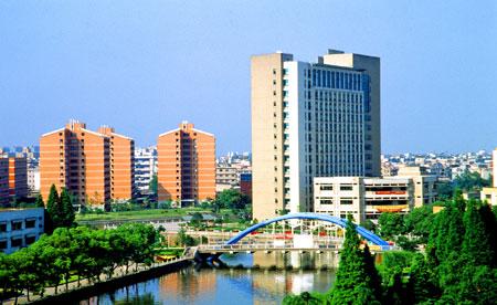 浙江工业大学朝晖校区 主楼全景