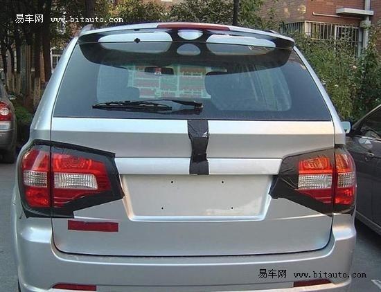 【荣威SUV谍照】-荣威SUV及全新MG 3两款新车年内将上市