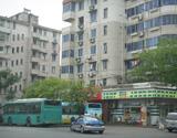 朝晖五区公交站