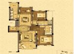 B户型 优雅三房(建筑面积约139平方米)