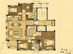 C户型 尊贵四房(建筑面积约206平方米)