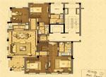 D户型 舒适四房(建筑面积约185平方米)