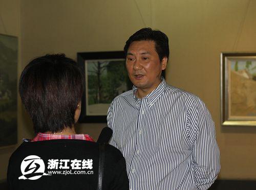 中共丽水市莲都区区委常委,副区长  刘志伟 接受采访