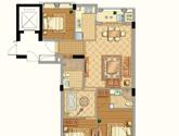 九衡公寓c4-116平米户型