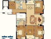 九衡公寓e1-169平米户型